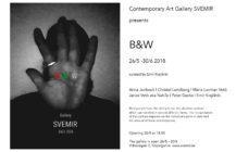 Contemporary Art Gallery SVEMIR presents B&W 26/5 – 30/6 2018